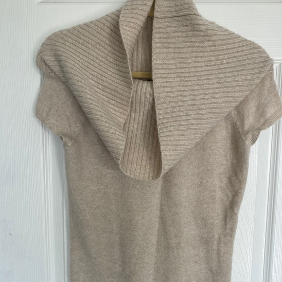 Theory large cowl neck cashmere sweater